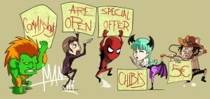 Chibis are spamming by Manu-G