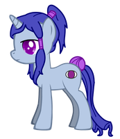 Blind Fate, My Little Pony: Friendship is Magic OC by Tuuc