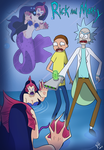Rick And Mortie  Mermaid adventure by TomoyoX3511