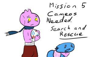 Mission 5 Cameos CLOSED by dorumon210