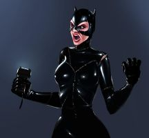 Catwoman by LuckyFK