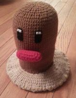 Crochet Diglett by DuctileCreations