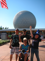 Bro_Sis_and Grands at EPCOT by FilmmakerJ
