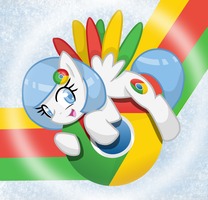 Google Chrome Pony Wallpaper by Musical-Medic