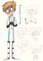 Human Wheatley doodlies by loneyqua