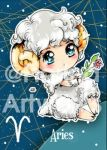 Chibi Starsigns - Aries by Fiorina-Artworks
