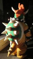 Bowser costume back by manamanson