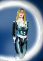 Invisible Woman by zaxparalax