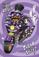 Halloween rider by hakutooon