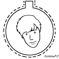 KickThePJ Ornament by TheBluekulele