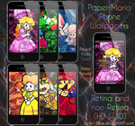 Paper Mario iPhone Wallpapers by CenixNova
