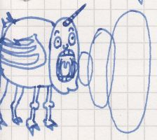 How real unicorns look like - Scribble by vonRibbeck