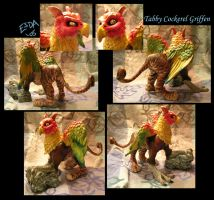 Tabby Cockerel Griffen by FablePaint