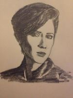 Sara Quin from Tegan And Sara by SheepTheJuggalo