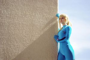 Metroid: Zero Suit Samus 4 by HayleyElise