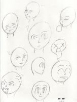 Facial Expressions by rockingchick1