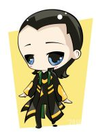 Chibi Loki by winter-kareki