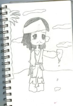 Jack Sparrow and no rum by neptunegirl