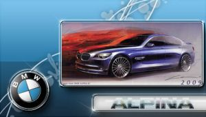 B7 Alpina PSP wall by DeviantSith
