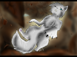 Falling Like Feathers (+Speedpaint) by Amerikat