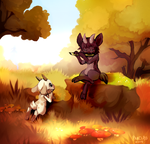 Autumn melody by Pand-ASS