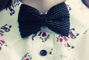 Mr. Bow tie by Ur6o