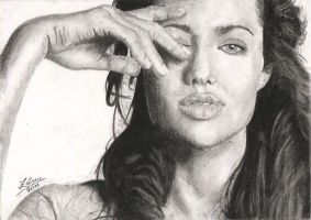 Angelina Jolie by fishbone0102