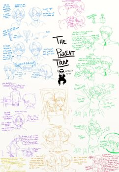Hetalia: The Parent Trap with the FACE Family by ExclusivelyHetalia