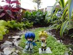 Nendoroid Len x Kaito by Cy-DarkNeKoiid