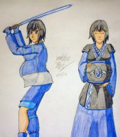 [Request] Rin Strife - Warrior and Mother by JAM4077
