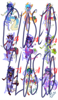 Adoptables.part1.CLOSED::..+ by Uriko44