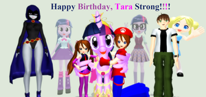 Birthday Tribute To Tara Strong by Mario-McFly