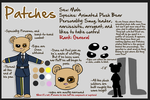 Patches Ref Sheet by chubird