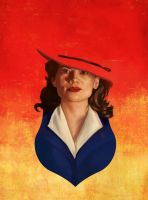Agent Carter by rflaum