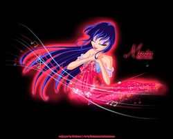 Wallpaper Musa Power by winxyarianna