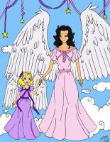 My Angel and Me by LindyArt