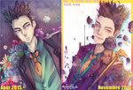 HAHA- BEFORE/AFTER_2015-2016. by MaewenMitzuki