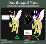 Draw this again meme by bassmegapokemonlover
