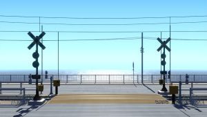 Train Stop by mclelun