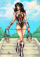 Warrior of Justice by Forty-Fathoms