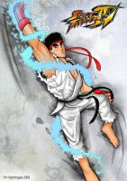 Shoryuken ::: SF4 - Ryu ::: by Mantastic001