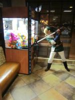 ALA12-Link vs the Claw Game by moonymonster