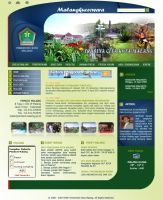 Malangkota Web Layout2 by champchoel