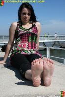 Hard Barefooter 2 by Footografo