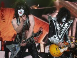 Paul Stanley x Tommy Thayer II by WednesdayZombie