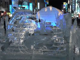 Ice sculpture 2 by Akira-H
