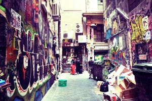Degraves st. by hideandsleep