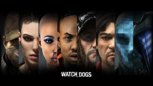Watch Dogs Faces by ShuelAhmed
