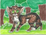 art trade with Firewolf-Anime by RedNoctali