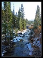 Snowy Creek 02 by DarthIndy